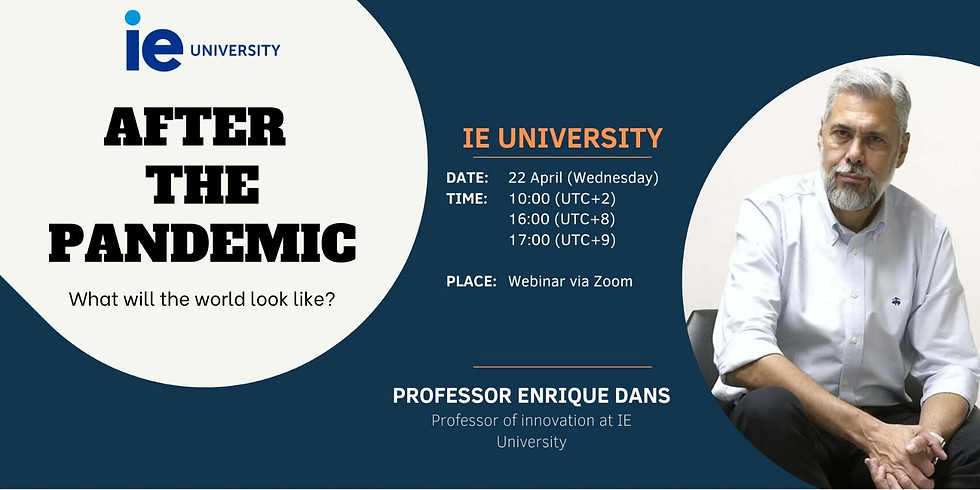 """IE Business School's """"After the pandemic"""""""