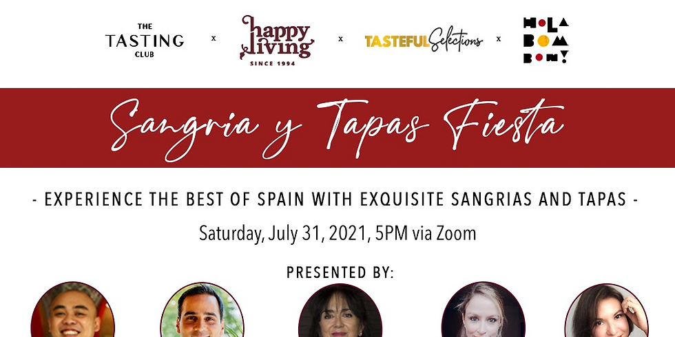 Sangria y Tapas Fiesta