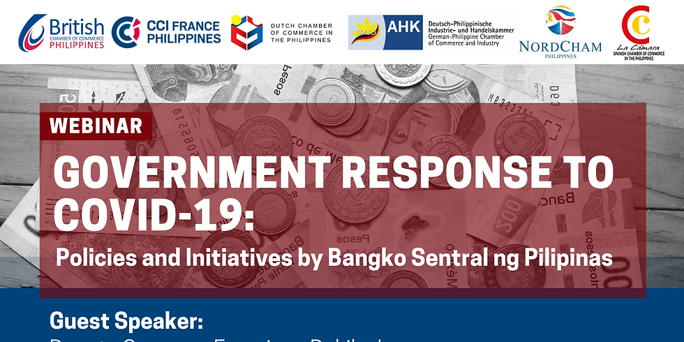 Government Response to CoVid-19: Policies and Initiatives by BSP
