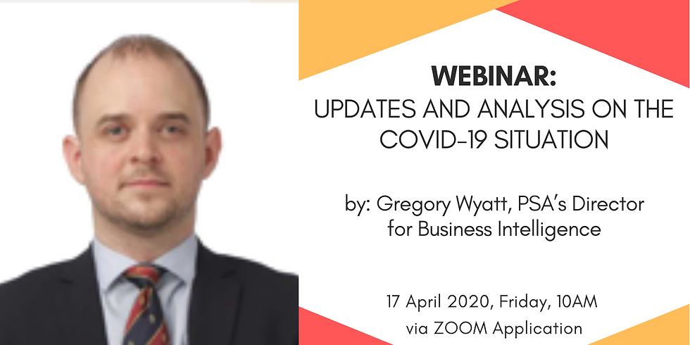 WEBINAR: Updates and Analysis on the COVID-19 Situation