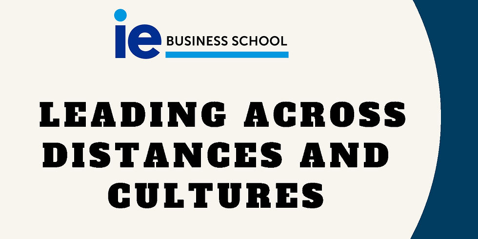 Leading across Distances and Culture