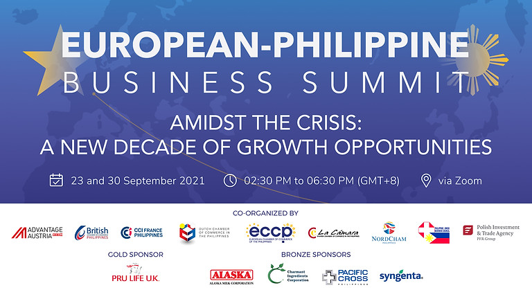 European-Philippine Business Summit: Amidst the Crisis: A New Decade of Growth Opportunities