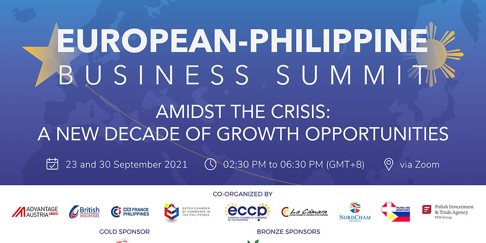 DAY 2: European-Philippine Business Summit: Amidst the Crisis: A New Decade of Growth Opportunities