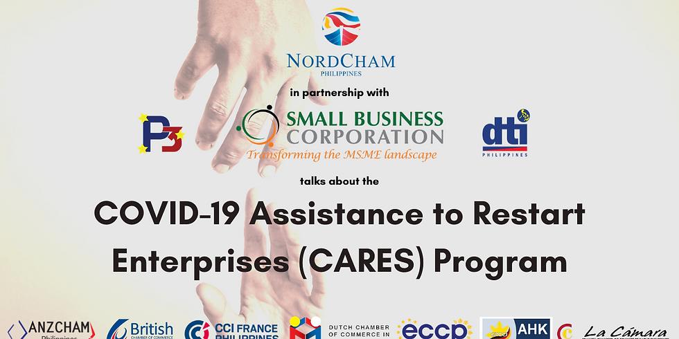 WEBINAR: COVID-19 Assistance to Restart Enterprises (CARES) program