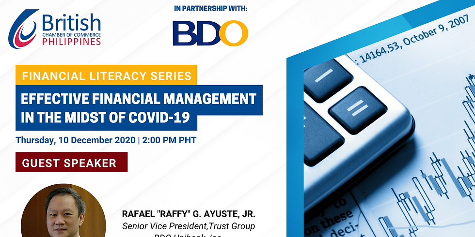 Financial Literacy Webinar with BDO
