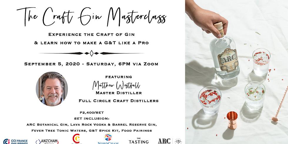 The Craft Gin Tasting Masterclass