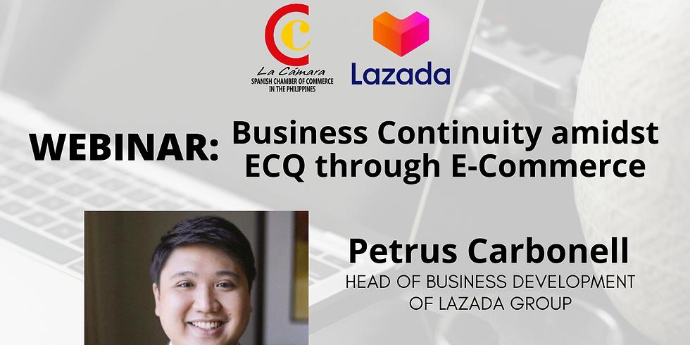 LAZADA: Business Continuity amidst ECQ through E-Commerce