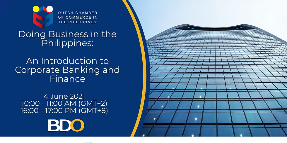 Doing Business in the Philippines: An Introduction to Corporate Banking and Finance.