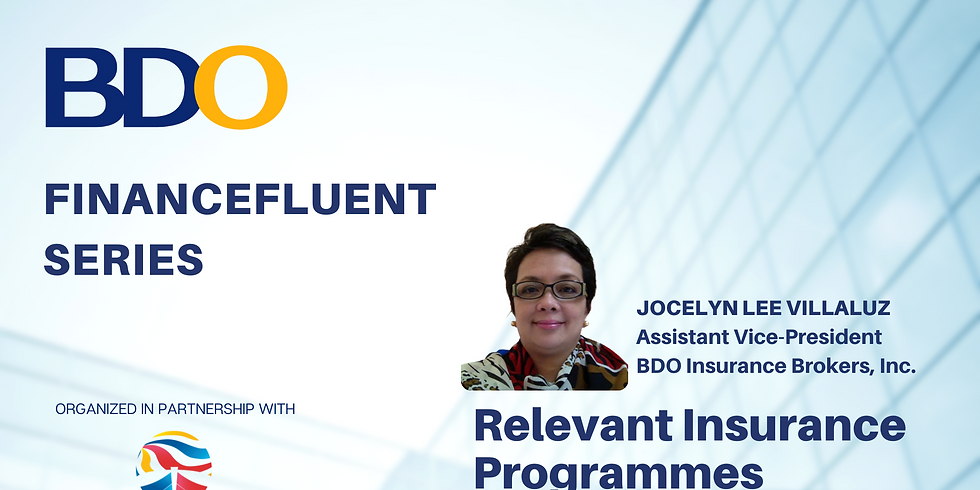 BDO Financefluent Series: Relevant Insurance Programmes in times of Covid19