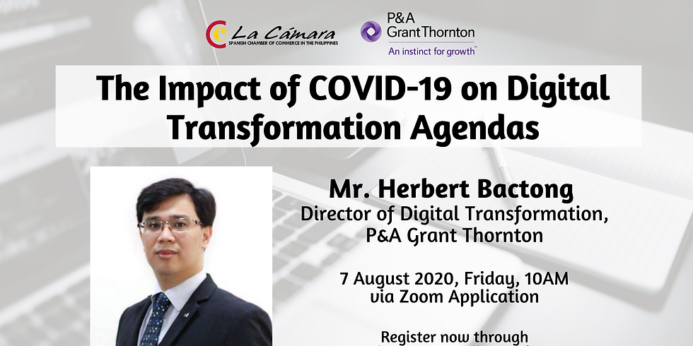 The Impact of COVID-19 on Digital Transformation Agendas