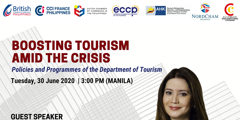 Boosting Tourism Amid the Crisis: Policies and Programmes of the Department of Tourism