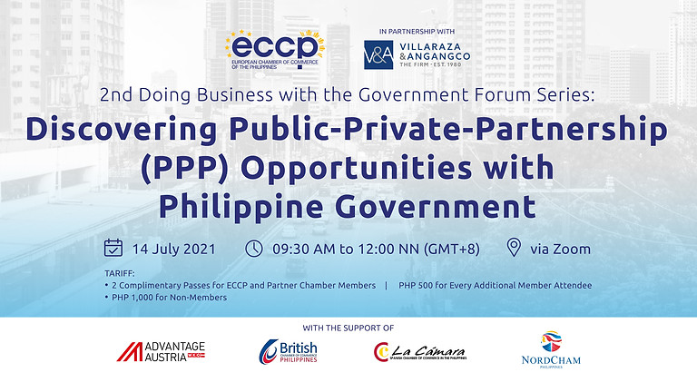 Discovering Public-Private-Partnership (PPP) Opportunities with Philippine Government