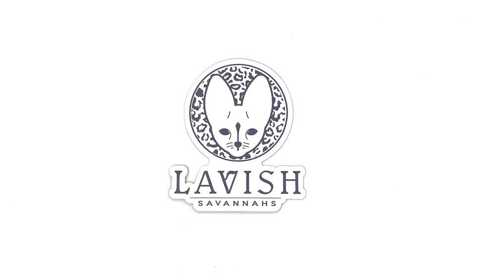 Lavish Savannah's Logo Magnet