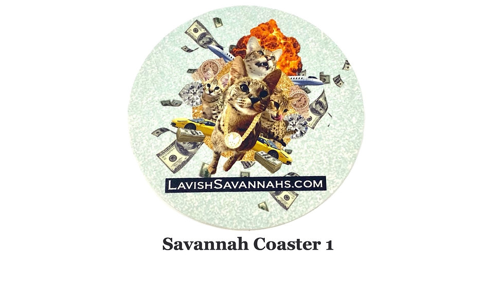 Perfect Savannah Coaster