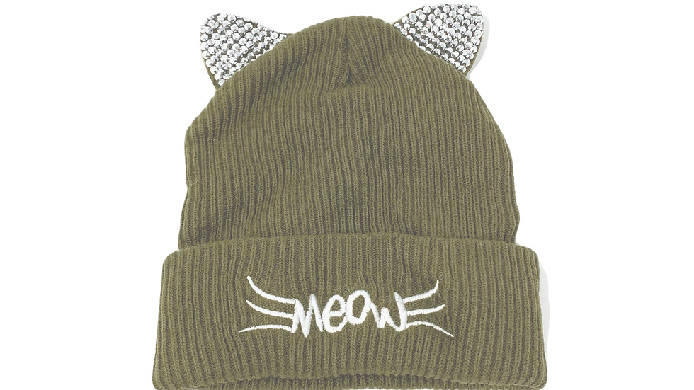 Bedazzled Beanies - Silver Gems