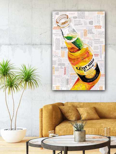 Icy Cold Corona by Sue Dowse