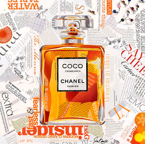 Coco Chanel - Ltd Ed Print (40x40, 60x60, 80x80 cm sizes)