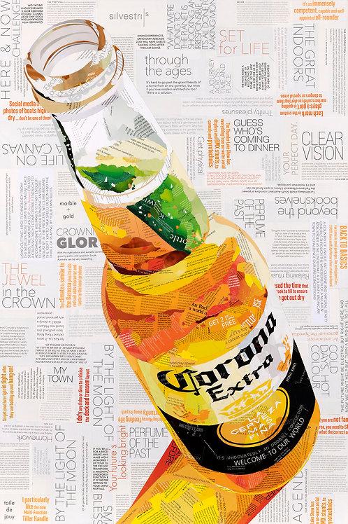 Icy Cold Corona - Ltd Ed Print (A3, A2, A1 sizes)