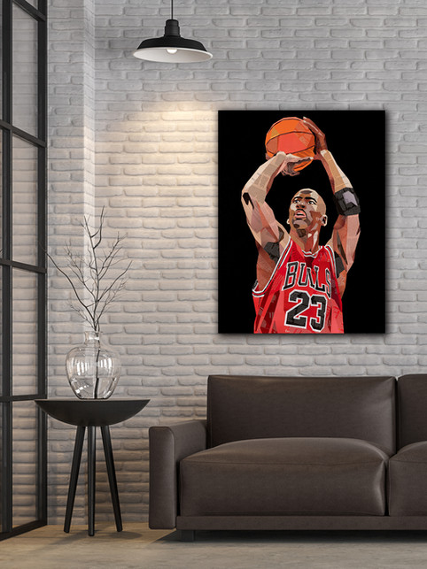 MJ - The Goat (Greatest Of All Time) by Sue Dowse