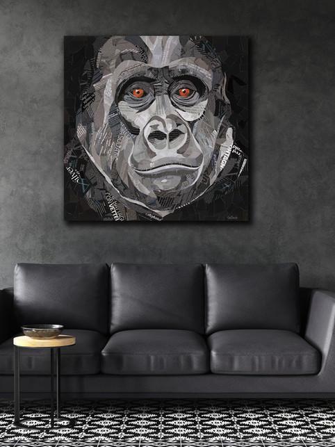 Gorilla Eyes by Sue Dowse