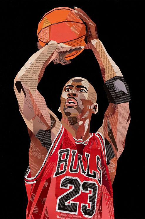 Michael Jordan - Ltd Ed Print (A3, A2, A1 sizes)
