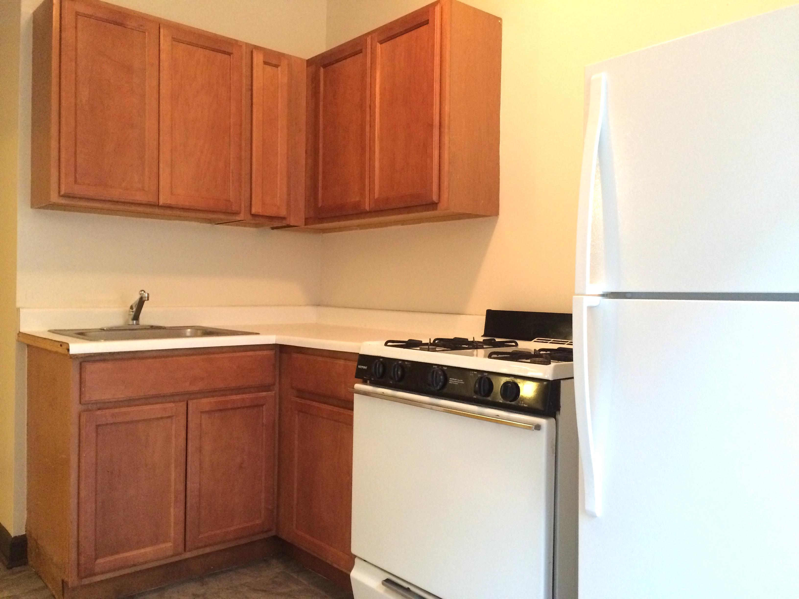 Kitchen, 2 bedroom apartment in Austin Chicago, 335 N Pine, Chicago IL 60644