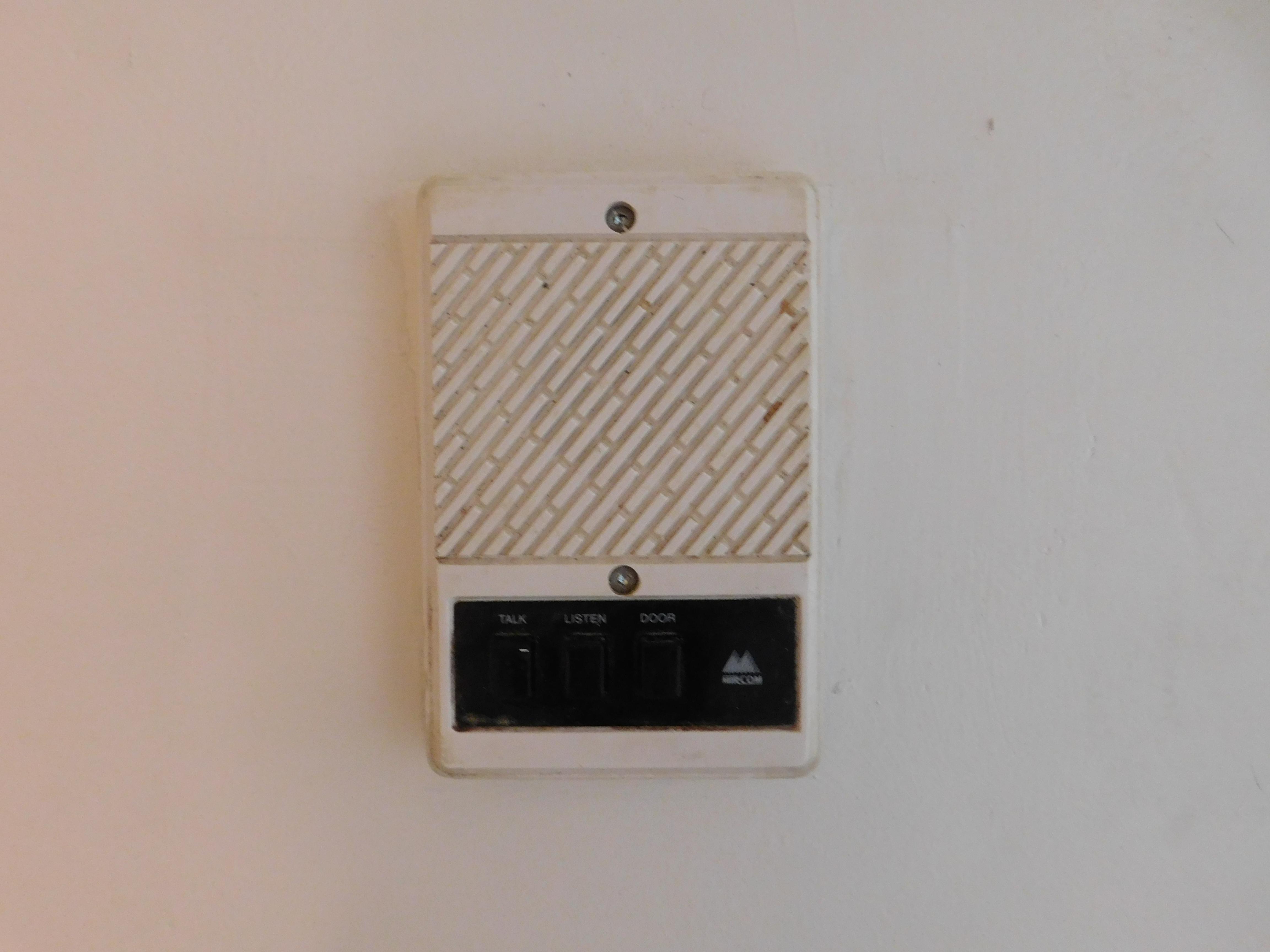 Intercom/Door Buzzer
