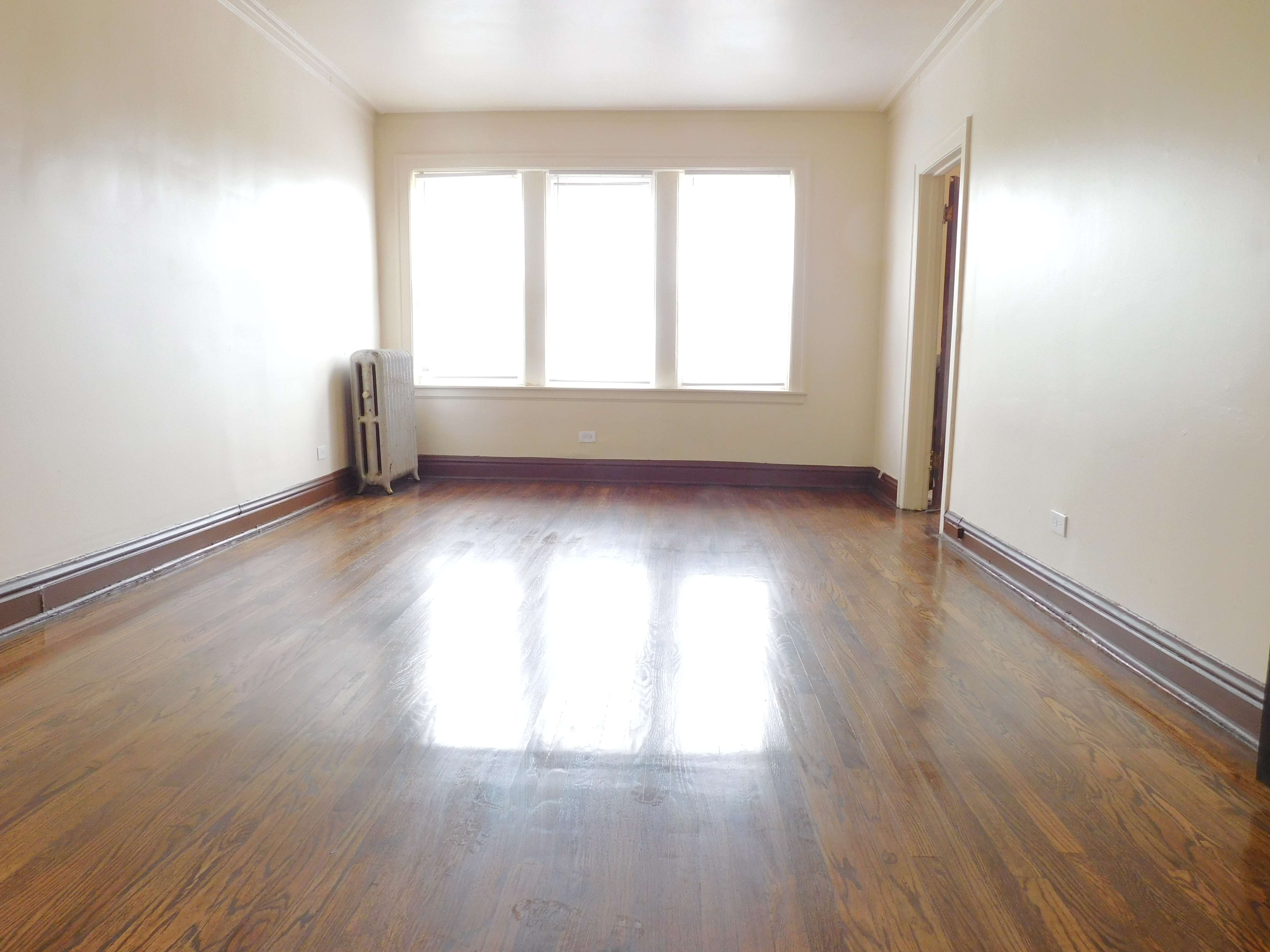 1 bedroom apartment in Austin Chicago - Living Room