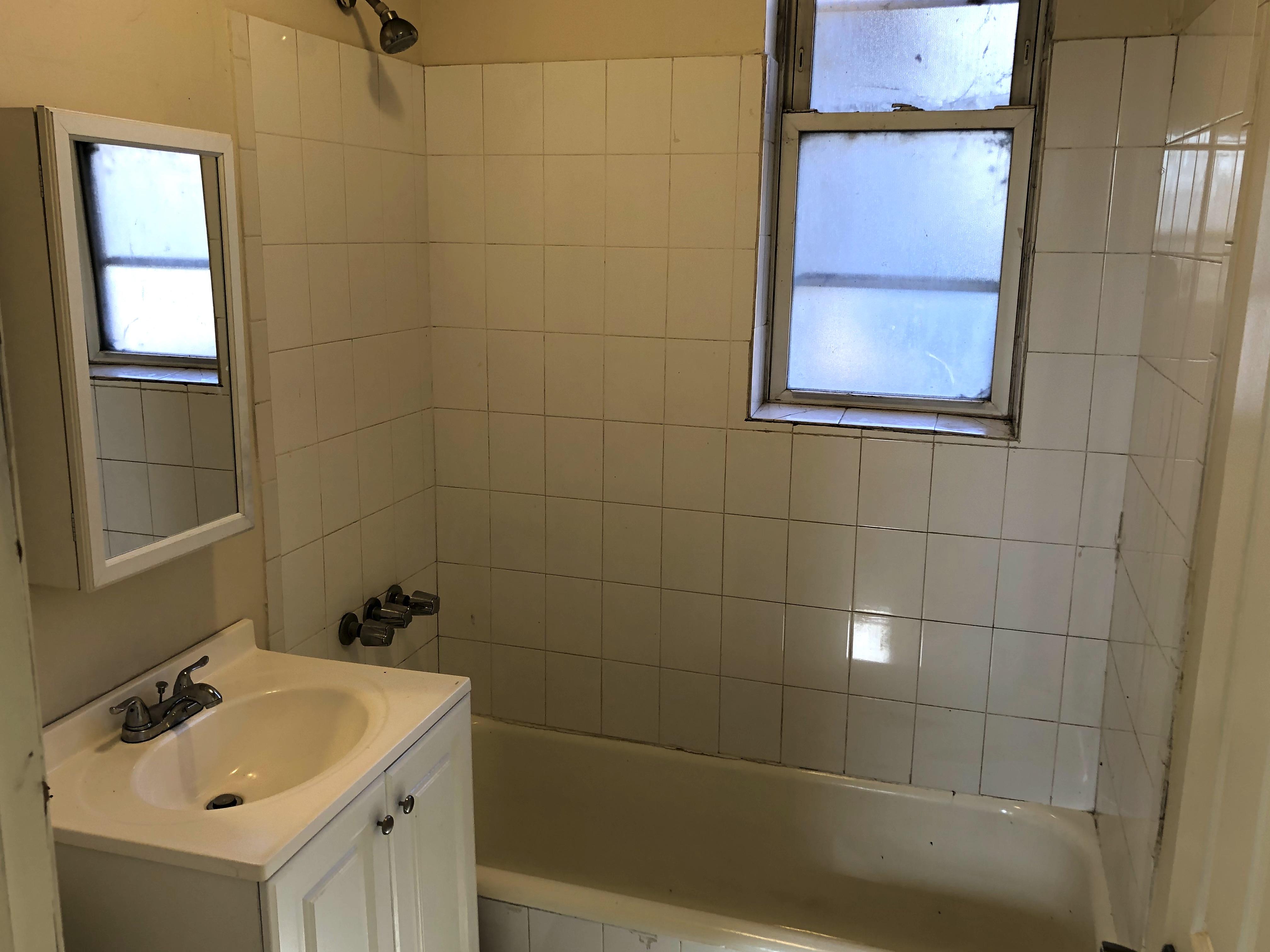 Rehabbed bath