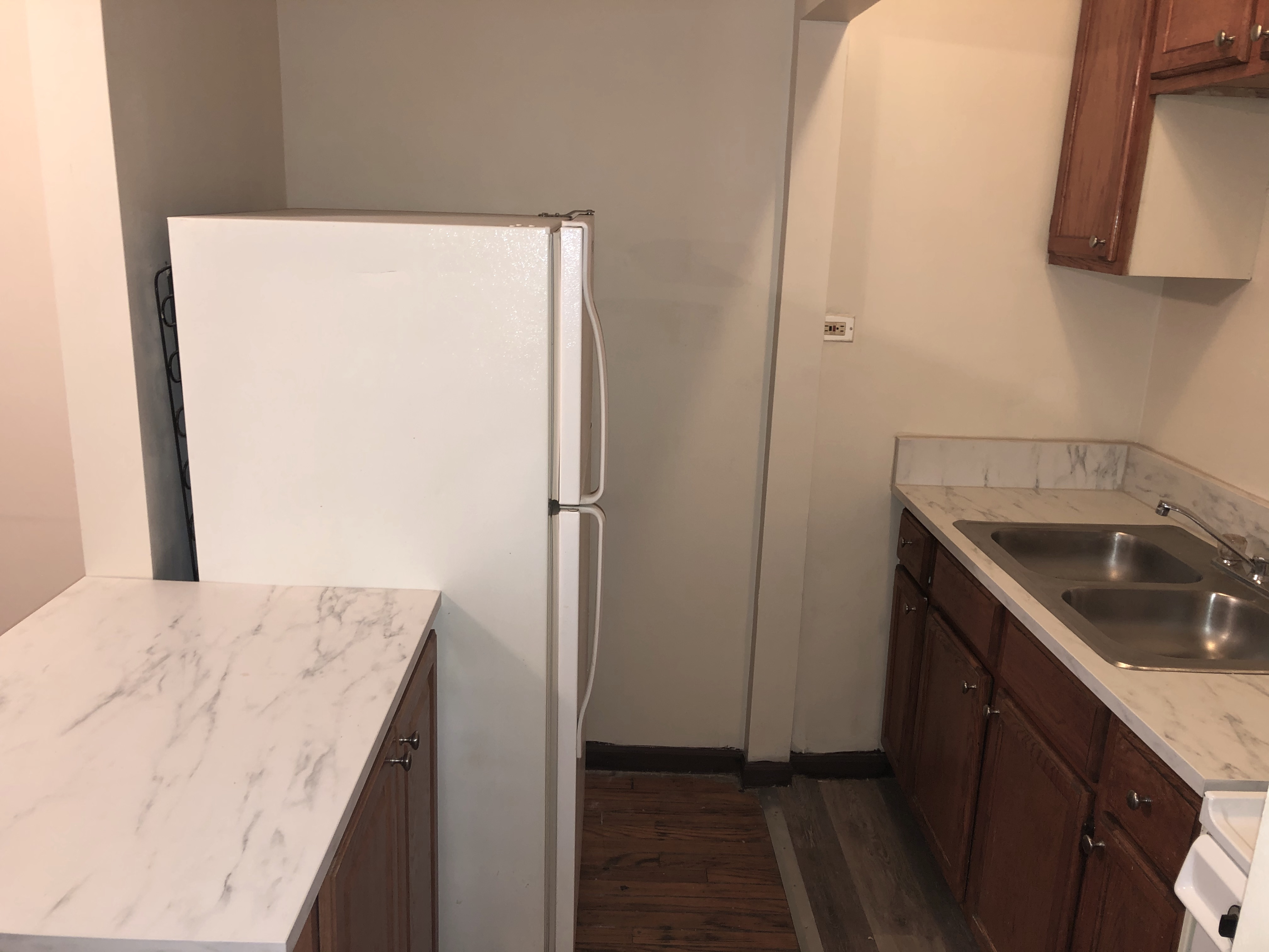Pictures are of the actual apartment for rent. Truth!