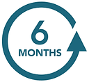 6 month duration icon