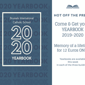 Come & Get your Yearbook 2019-2020