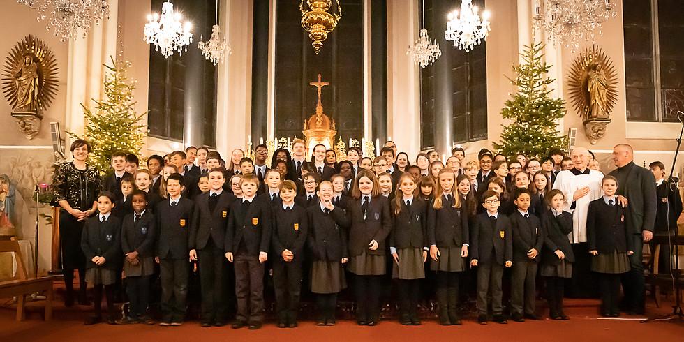 Bics's Choir sings Xmas Carol