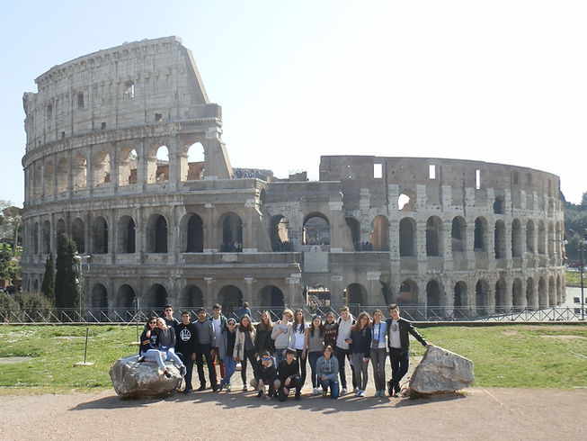 2017. In front of the Flavian Amphitheat