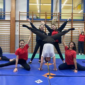 Acrobatic gym pour les filles en secondaire
