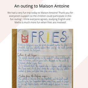 Fry Outing to Maison Antoine