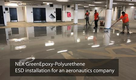 ESD Floor Installation