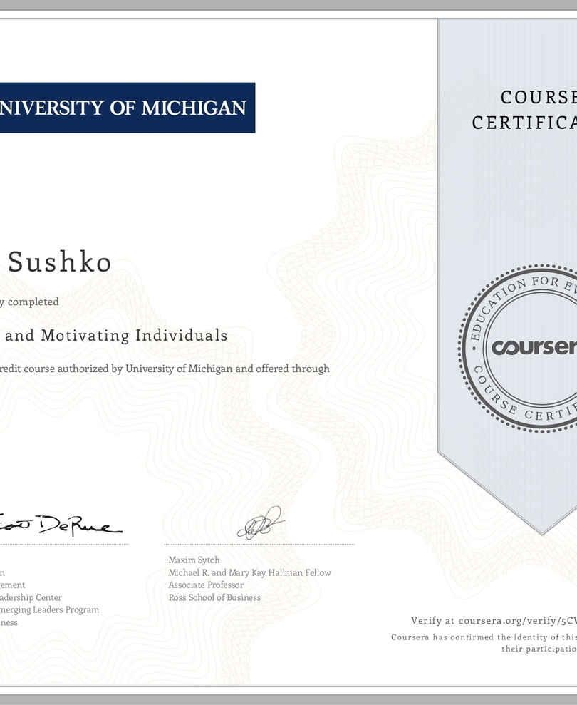 University of Michigan Inspiring people