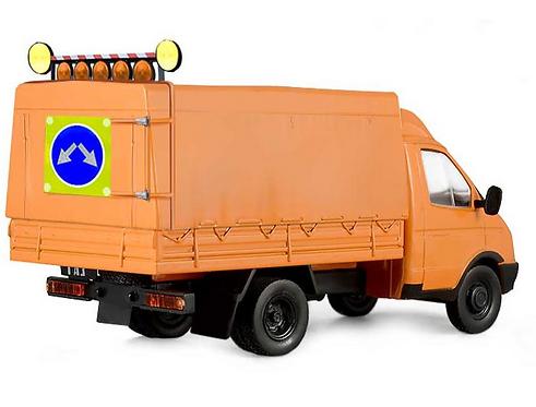 Светодиодный комплект оснащения для газели (ДССИ)