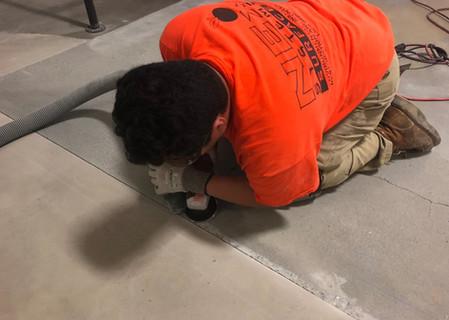 Crack Repair & Joint Preparation