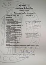 Диплом об окончании курса для иностранных фармацевтов