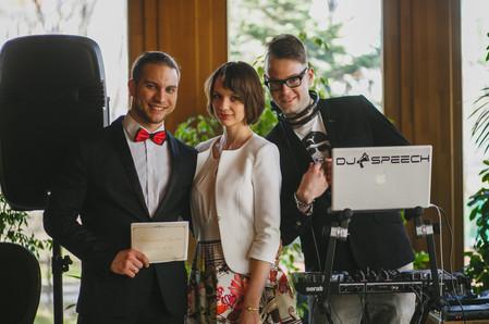 Команда Романа Орлова на свадьбу в Москве