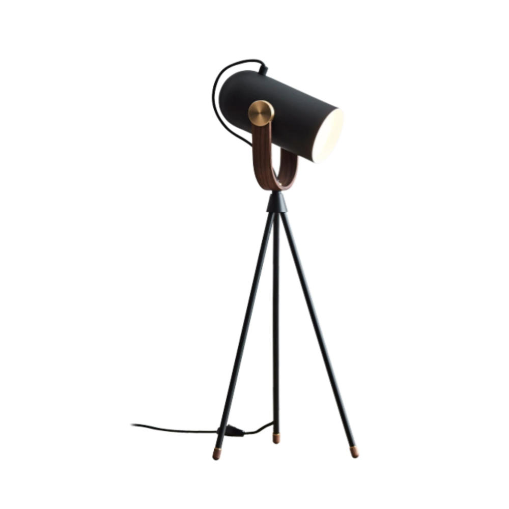 Carronade High Table Lamp - Black