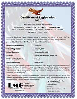 FDA sertifikası.PNG