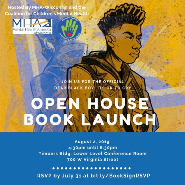 Open House Book Signing - Dear Black Boy: It's Ok to Cry
