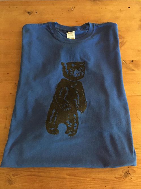"""Blue 'Bear"""" - an electric blue Monster"""