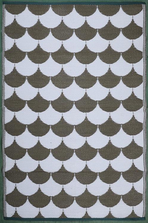 Parachute Brown & White Area Rug