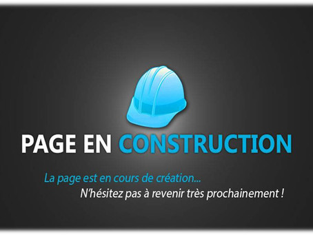 La construction se poursuit !
