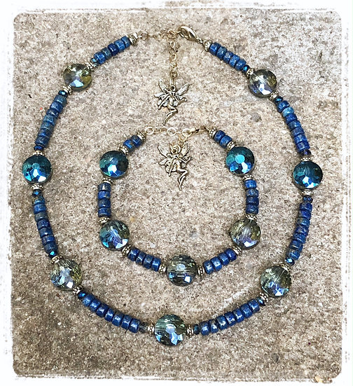 Lapis Lazuli Fairy Necklace