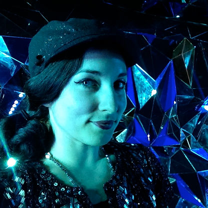 Sarah Sparkles Set Dresser at Diamond Horseshoe NYC